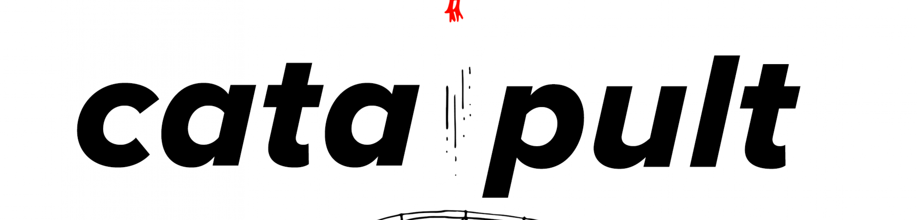 "The word ""Catapult"" in a clean, italic font."